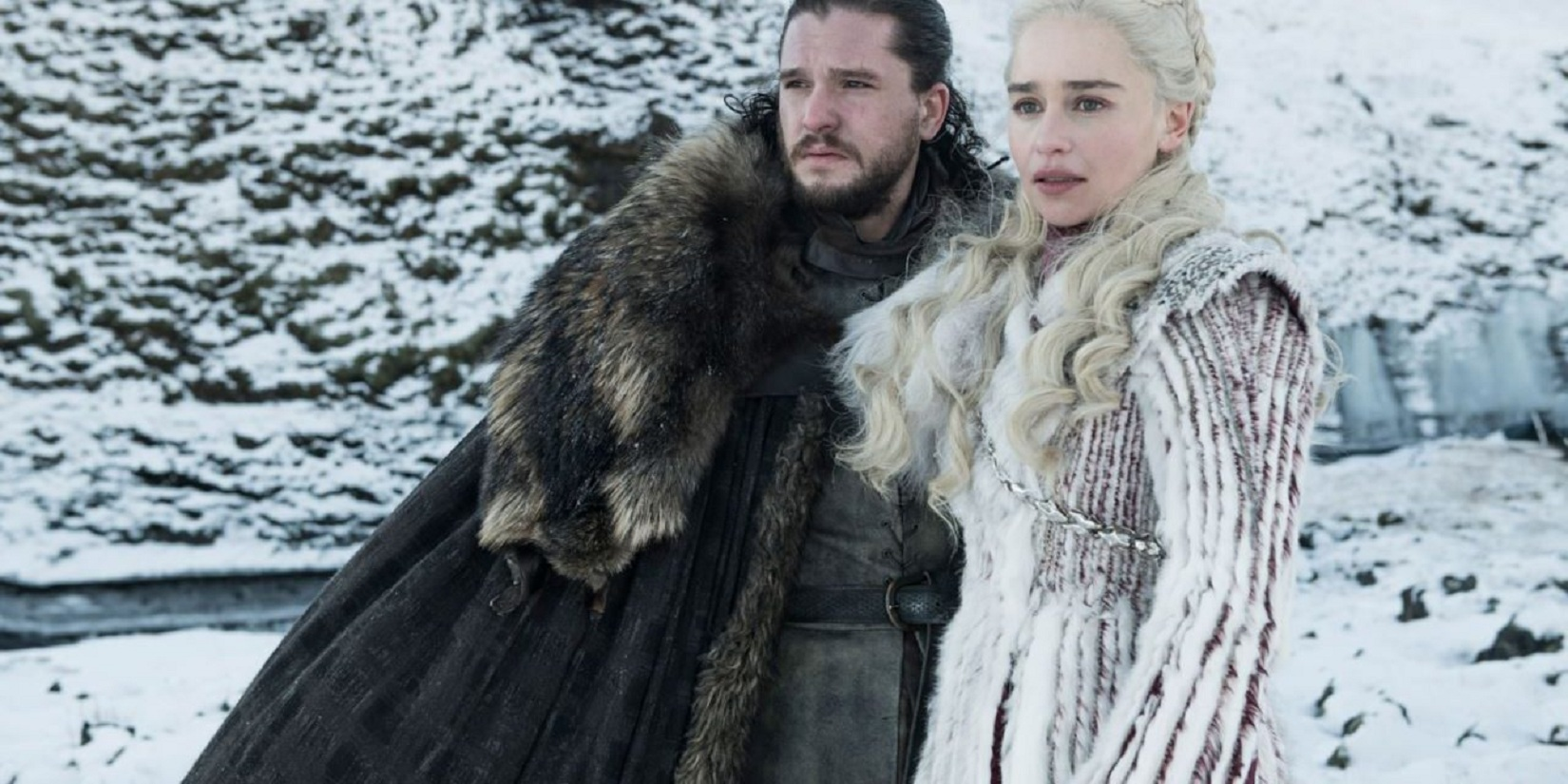 jon e daenerys game of thrones