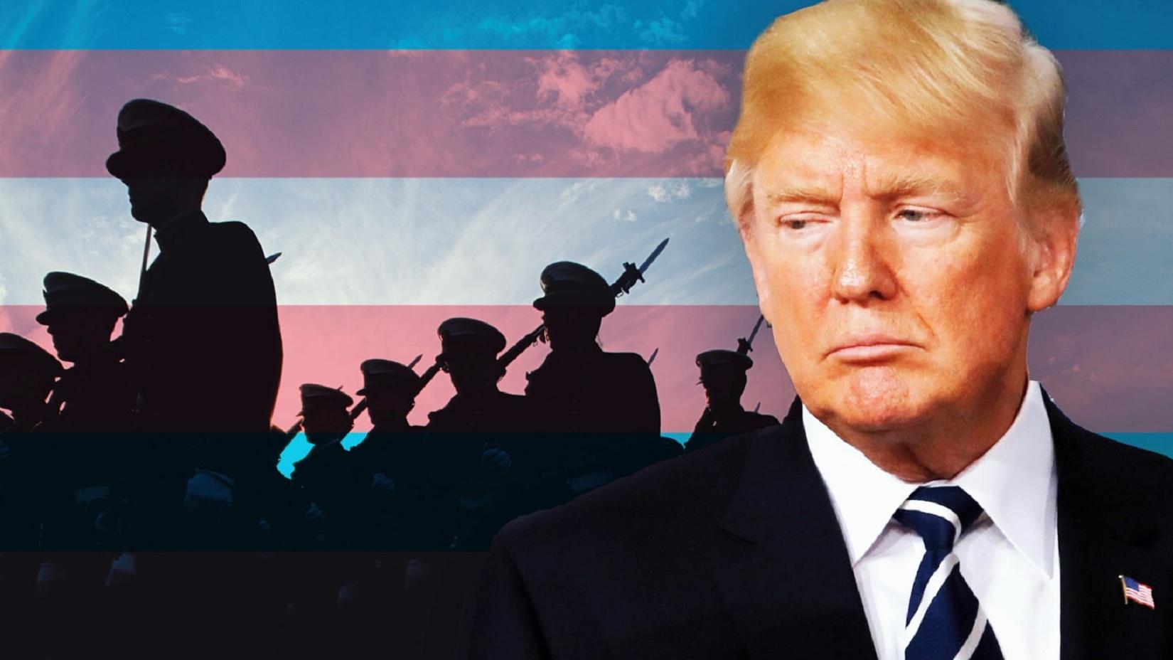 transgender trump esercito