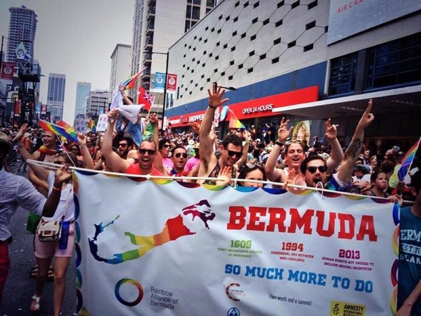 Bermuda gay