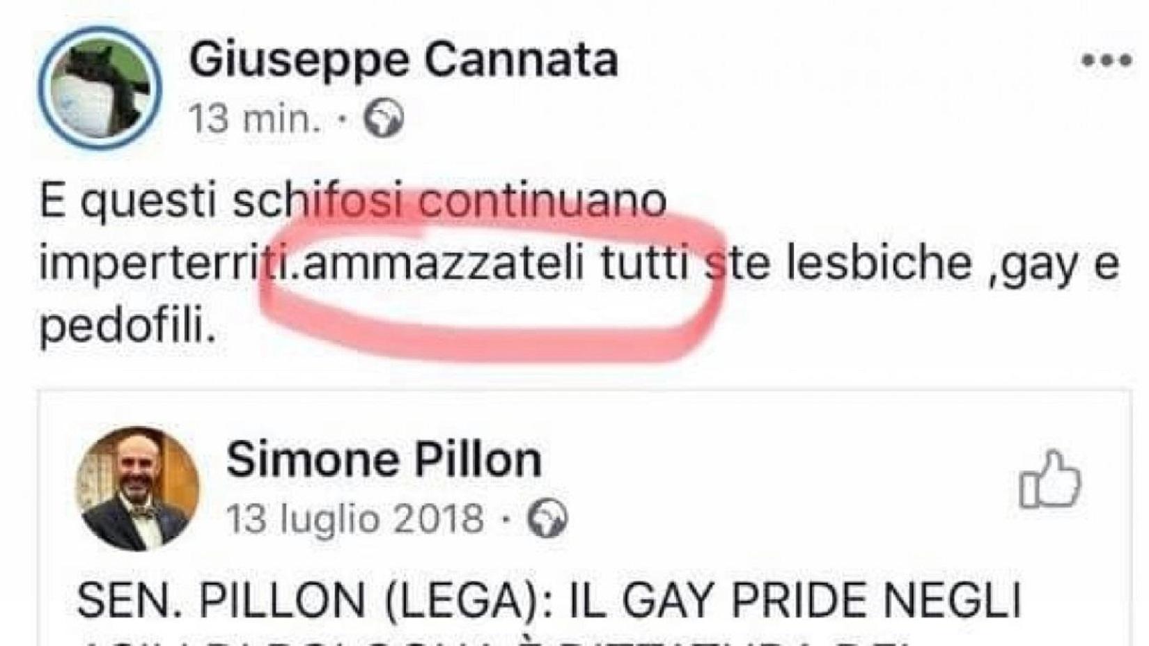 vercelli consigliere omofobo