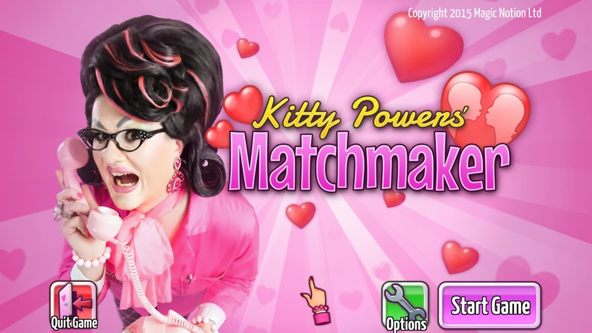Kitty Powers' Matchmaker videogame