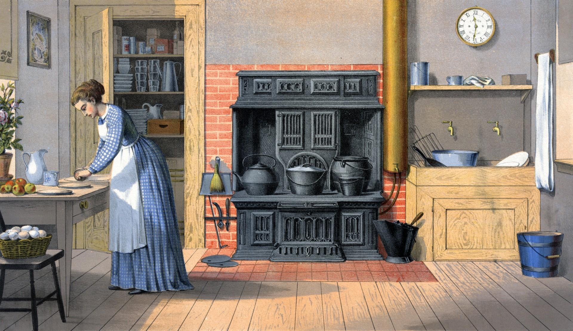 Immagine di cucina antica