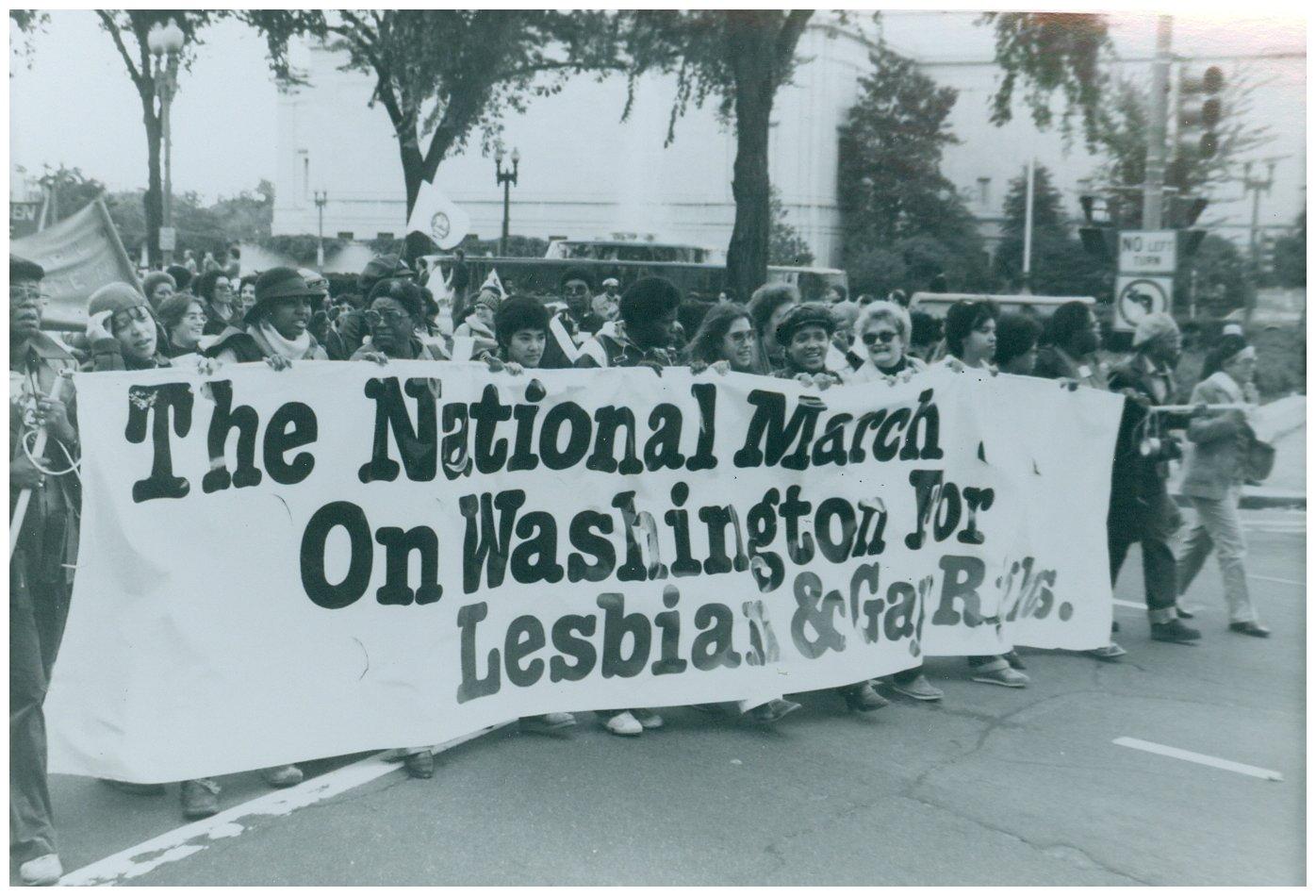 marcia nazionale per i diritti di gay e lesbiche