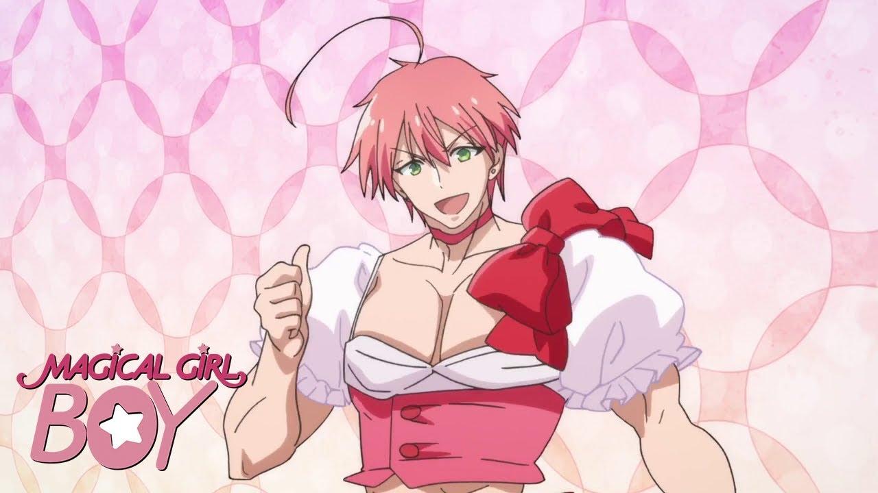 manga magical girl boy