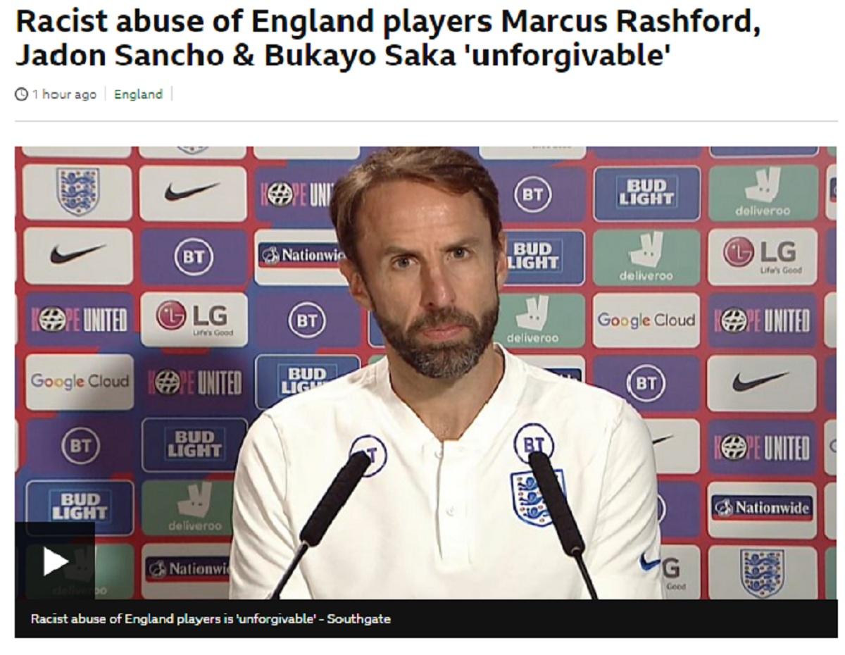 racism england